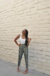 Shantal Cole -  - Printed Trousers