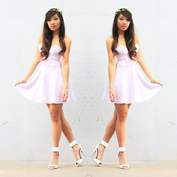 Christine Hsu - Lulus Lilac Dress - FAIRY DUST