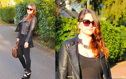 Dasha Romanova - Prada Sunnies - It's your sunset!
