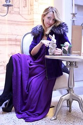 Lady Fur Welovefur - Samantha De Reviziis Fur In Mink, Orylag And Fox, Borbonese Dress, Pollini Shoes - Fairytail in Milan