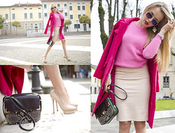 Darya Kamalova -  - PINK-ON-PINK LADY STYLE