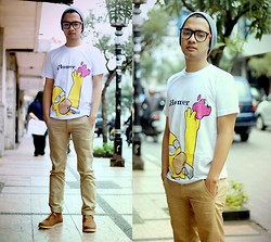 Poldo Napitupulu - Topman Beannie, Unbrand Gift From My Gf Tees, Brodo Shoes - IHomer