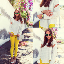 Melanie Winter - Zara Jeans - LEMON