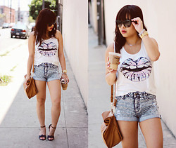 Joanknee C. - Zara Bag, Sandals, Marc By Jacobs Sunnies - Get Lucky