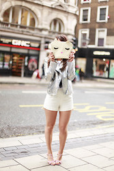 Thelittleworldoffashion Aude - Eleven Paris Perfecto, Eleven Paris Short, Primark Clutch, Pepe Jeans Shoes - Kanye