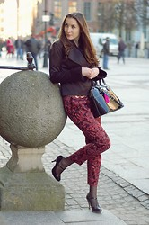 Pam Skrzypczak - H&M Pants, Mohito Jacket, Paul's Boutique Bag - Immortal Me