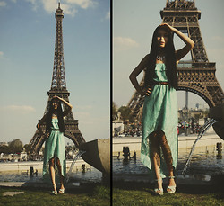 Michelle Lara L. -  - Paris in mint green