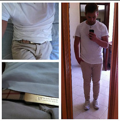 Ferdinando Imperato - H&M T Shirt, Imperial, Burberry, Converse All Star - Summer is coming