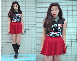 Natalie Chui - Gift Sex Pistols Tee, Hk Boutique Shoes - CORNERSTONE