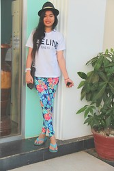Morodok Keo - Céline T Shirt, Leggings, Ipanema Sandal - Its funny how i always keep it simple