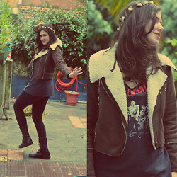 Maria Leal - Aviator Jacket - Cold ♥