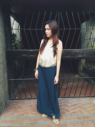 Mikee Li Bi - Topshop Top - Antique