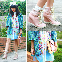 Connie Cao - K Is For Kani Headband, Romance Was Born Coat, Romance Was Born Dress, See By Chloé Shoes - Cedric