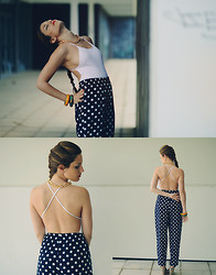 SWAY OF EARTH - Oysho Swimsuit, Vintage Pants - GOLDEN AGE