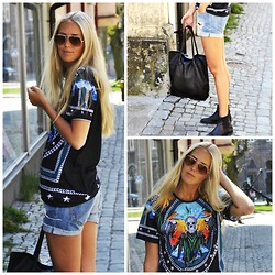 Kajsa Svensson - Zara Tee, Pieces Bag - When I grow up