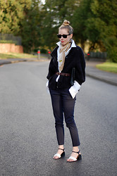 Daniella Robins - Maxmara Scarf, Whistles Trousers, Marni Shoes - Hints Of Spring