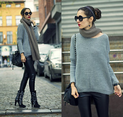 Ruxandra Ioana - 2dayslook Sweater, 2dayslook Sweater - You hear, but you don't listen!