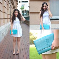 Kiki Nicole Suen - Zara Dress, Yves Saint Laurent Clutch, Billini Heeled Sandals - Still Into You