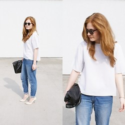 Violet G. - Second Hand Blouse, Cubus Jeans, Reserved Bag - BOYFRIEND'S JEANS - PART II