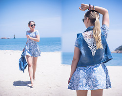 Olga Choi - Motel Rocks Dress, Asos Sunglasses - Paisley summer