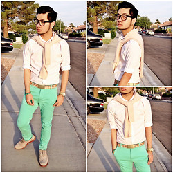 Shawn C. - Asos Chinos, Skechers Mark Nason For - Mint Condition