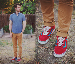 Edward Honaker - American Apparel Shirt, Kasil Pants, Vans Shoes - Superia1600