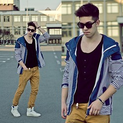 Sebastian Filip - Zara Hi Top Sneakers, Topman Jeans - Shades of clarity