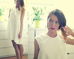 MAGDALENA P -  - WHITE DRESS