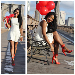 Monroe Steele - Asos Dress, Alexander Wang Shoes - BROOKLYN BRIDGE BIRTHDAY