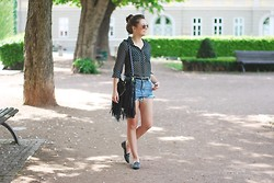 Marie Schöniger - Sheinside Shirt, Chicnova Bag, Chic Wish Flats - Sunny Thursday