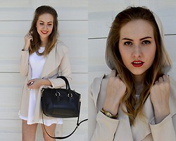 Sonia Ubik - Sheinside Coat, Romwe Bag - I wanna feel this moment