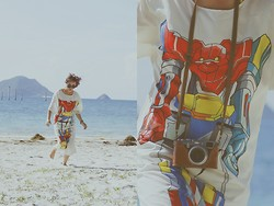 Jin Juin - B'store Dress - Robot beach