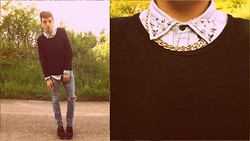 Melik D - Forever 21 Necklace, Underground Creepers - When you're around me, i'm radioactive