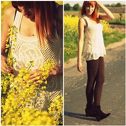 IFashionIt /blog - Bershka Leggings - Yellow land & me