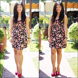 Glaiza Homez - Forever 21 Dress - Pinky Pink