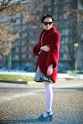 Lady Fur Welovefur - Carlo Ramello Mink Fur Coat, Capsule Suit - A cold morining in the city