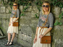 Sara Zgrzebniak - Primark Dress Wear As A Top, H&M Skirt, Romwe Bag, H&M Sandals - You sent me flying