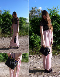 D De - Prada Bag, Bershka Long Dress - In the air