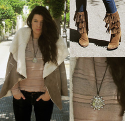 Rebeca Otero - Bershka Jacket, Zara Top, My Mom's Necklace - Places where I used to play