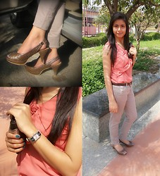 Himanshi Mukhija - Cobblerz Shoes, Fastrack Watch, Self Designed Top, Baggit Wallet - The Summer Escape 1
