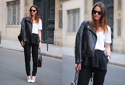 Zina CH - Monki Pants, Chanel Bag - Paris