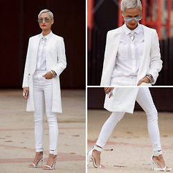 Micah Gianneli - For Full Outfit Deatils, Visit - All White Everything