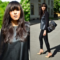 Patricia Do Nascimento - Gucci Shoes, Zara Top, Zara Pants, H&M Bag - ET BANG!