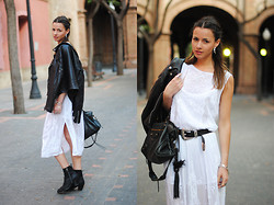 Zina CH - Acne Studios Boots, Balenciaga Bag - The Festival Look