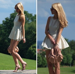 Ivana Ivic - Sheinside Jumpsuit, Sergio Rossi Heels, Asos Sunglasses, Asos Backpack - That girly side