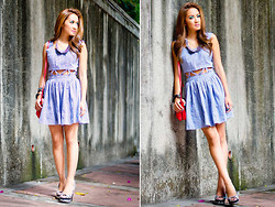 Laureen Uy - Stylogist Dress, Chiz Necklace, Chiz Bracelets, Céline Bag, Micheal Antonio Wedges - Sunny Mornings (BMS)