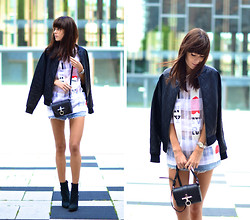 Lucy De B. - Bomber Jacket, Givenchy Bag, Acne Studios Boots - Before the storm