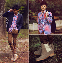 Vini Uehara - Guidomaggi Chelsea Boots, Tailor 4 Less Shirt - Don't Deny Your Heart