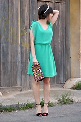 Kate You Are The One - Dress - GREEN DRESS