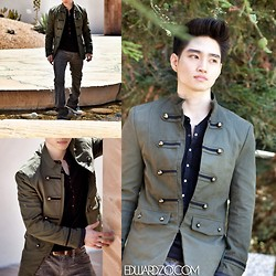 Edward Z. - Military Jacket - 3rd Dimension Militia